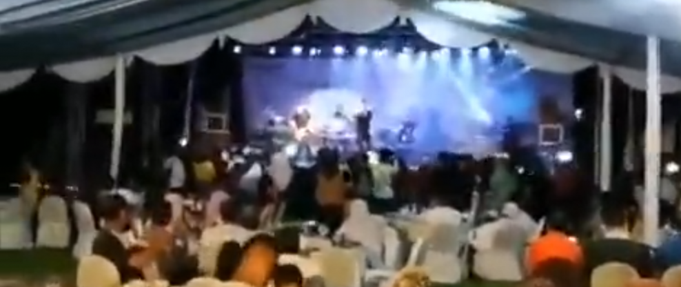 Indonesian Pop Band Seventeen Dead And Missing After Tsunami Hits Performance [Disturbing Video]
