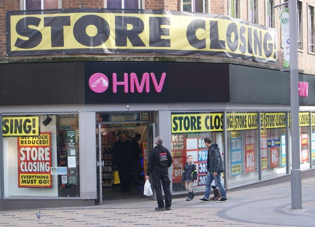 HMV May Be Rescued From Bankruptcy By Buyvia