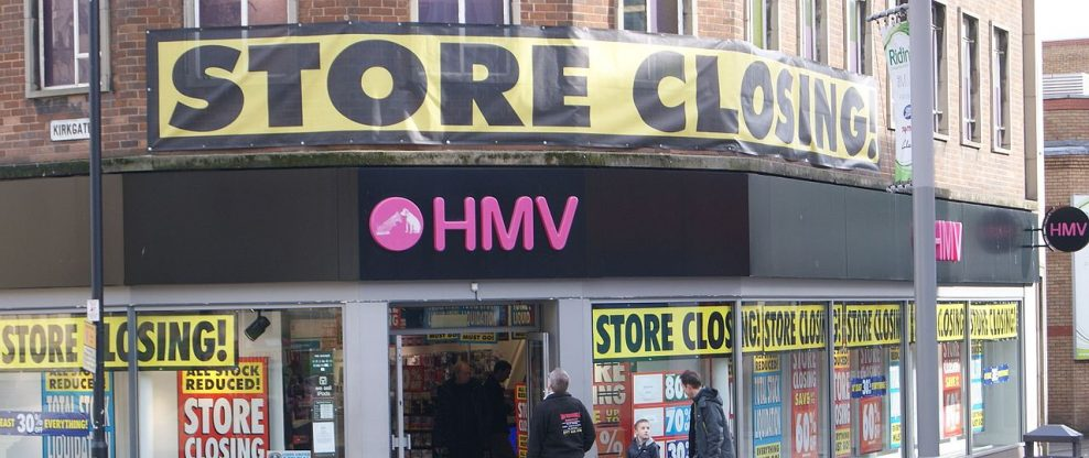 Owner of Canadian Music Chain Sunrise Records Reportedly Makes A Bid For HMV
