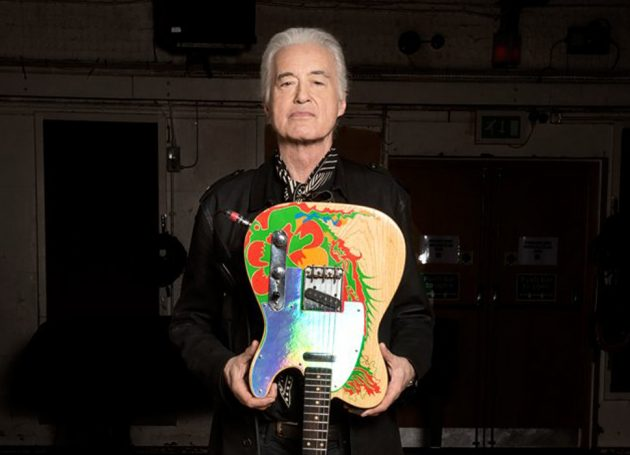 Jimmy Page's Famed Fender Dragon Guitar Gets Reboot After 50 Years