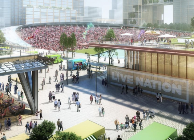 Chicago's Lincoln Yards Project Resubmitted Without Live Nation Entertainment District