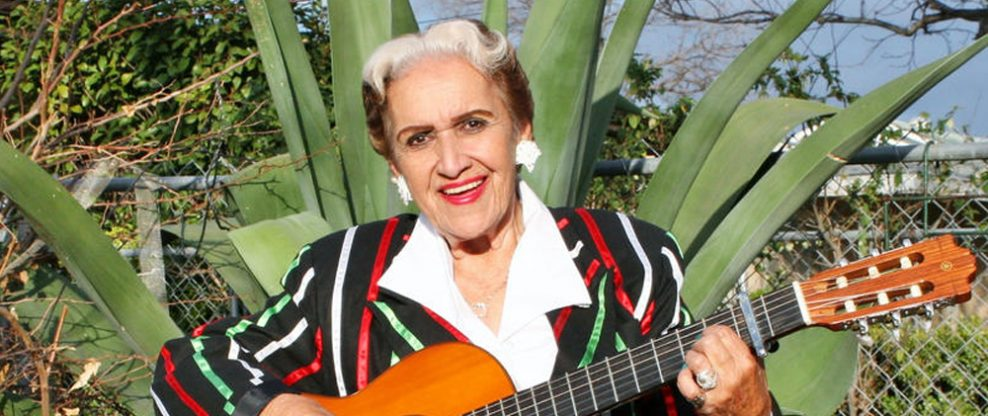Famed Ranchera Singer, Rita Vidaurri, Passes at 94