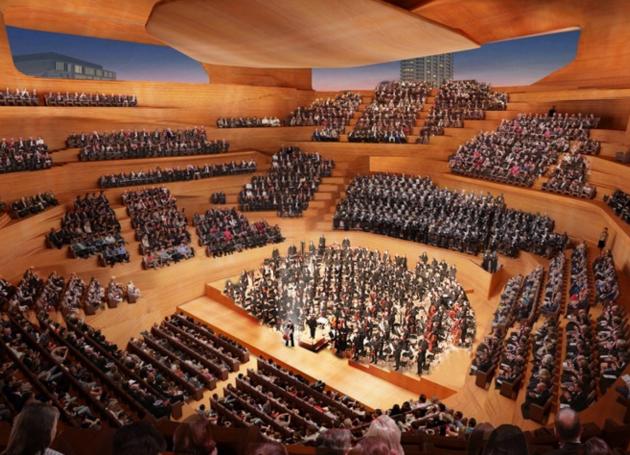 London Concert Hall Design Unveiled