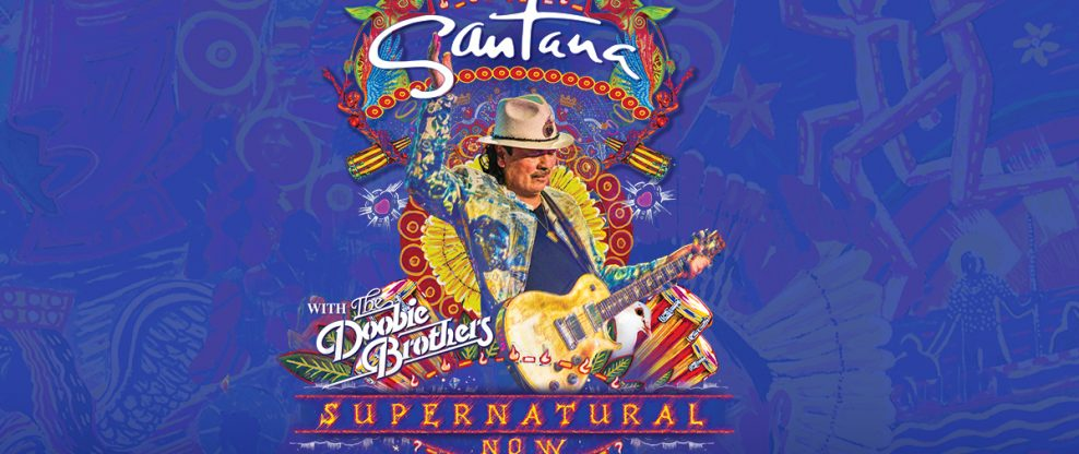 "Carlos Santana Announces ""Supernatural Now"" Tour"