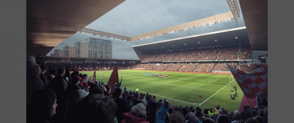 Befordshire, England, Football Club Gets New Stadium