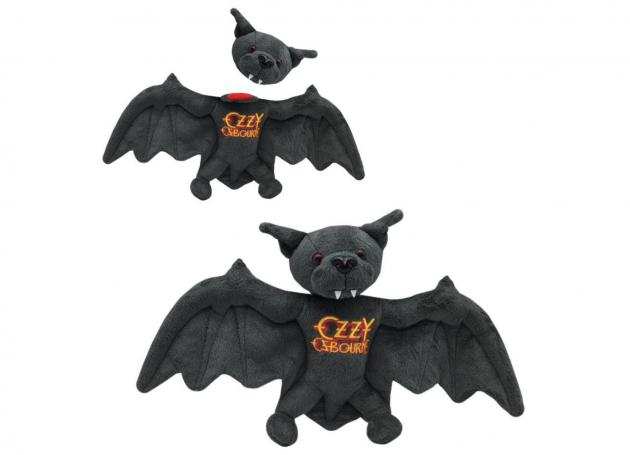 Ozzy Osbourne Celebrates Disturbing Anniversary With A Plush Toy Bat