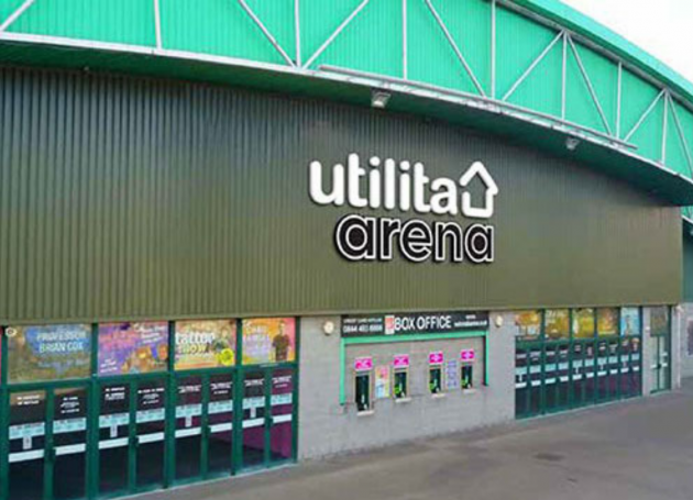 Newcastle Arena Now Utilita Arena