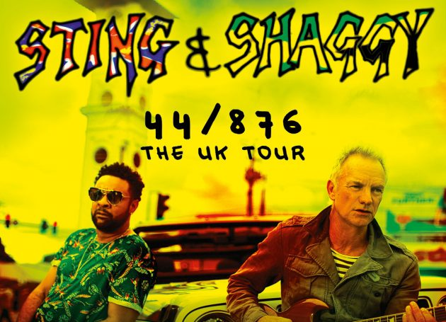 Sting & Shaggy Announce Return To The UK With The 44/876 Tour