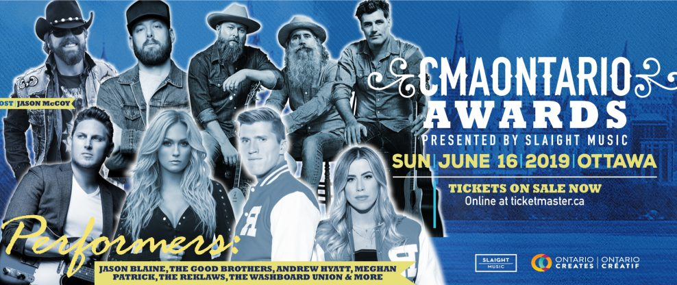 2019 CMAOntario Award Show Announces Performances By Jason Blaine, Andrew Hyatt, Meghan Patrick, The Reklaws & More