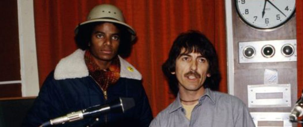 Rare Michael Jackson & George Harrison Interview to Air on BBC Radio This Weekend