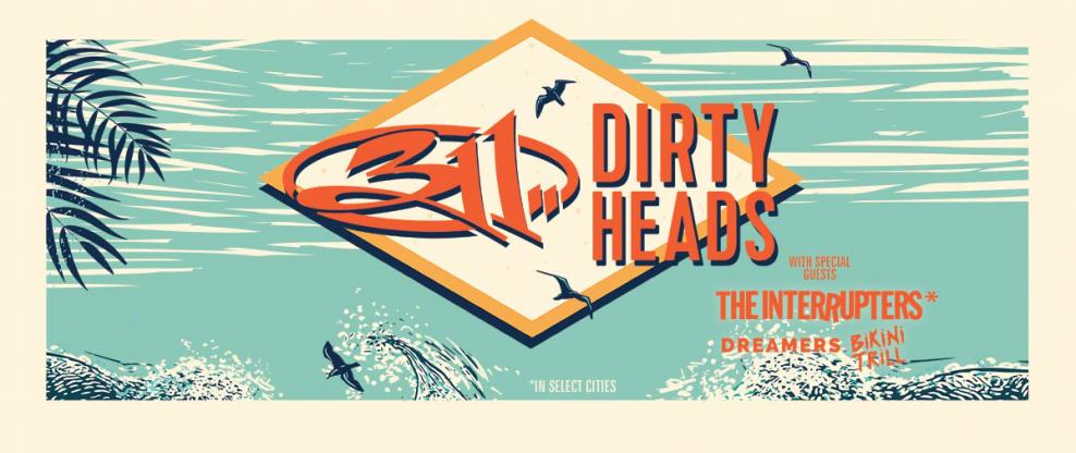 311 & Dirty Heads Announce Summer 2019 US Co-Headline Tour