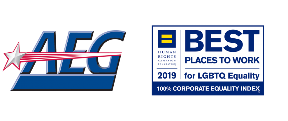 AEG Earns Perfect Score For 2019 Corporate Equality Index