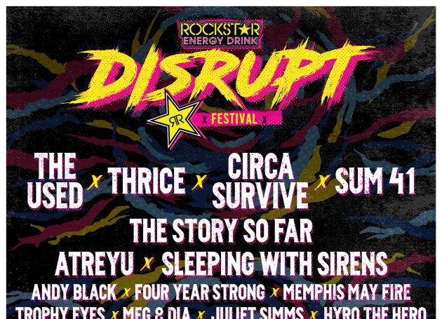 Live Nation And SGE Announce Traveling Event 'Rockstar Energy Drink Disrupt Festival'