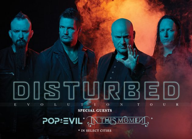 Disturbed Announce Second Leg of Evolution Tour