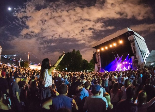 Live Nation's Summer Series At Philly's Festival Pier Gets Rerouted