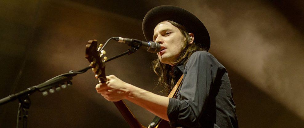 James Bay Buys A Guitar ... And It's Kind Of Famous