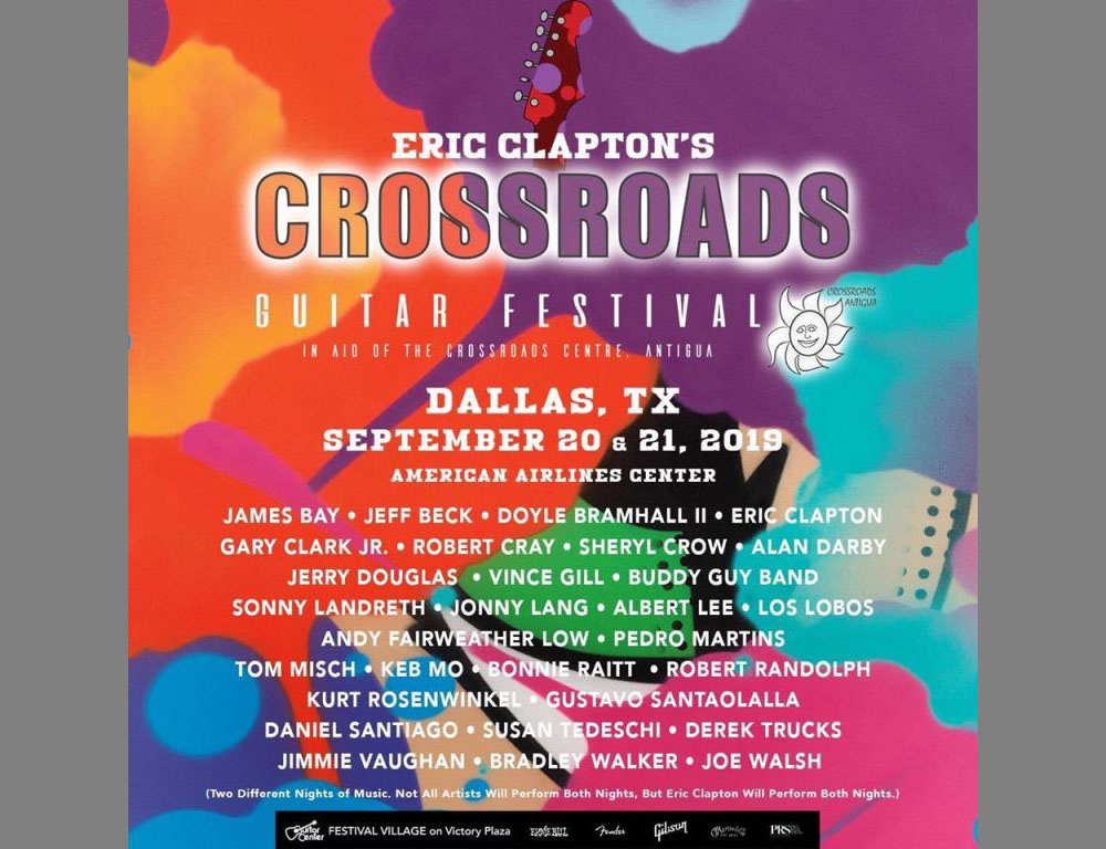 Eric Clapton Crossroads Guitar Festival 2020.Clapton S Crossroads Guitar Fest To Be A Pay Per View Event