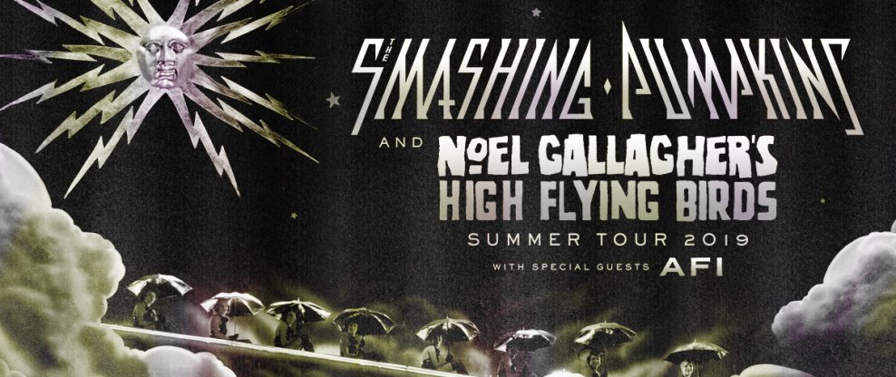 The Smashing Pumpkins & Noel Gallagher's High Flying Birds Announce North American Summer Tour