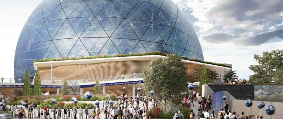 MSG Applies For The London Version Of The Sphere