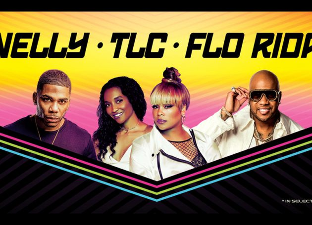 Nelly, TLC, Flo Rida Announce Amphitheater Package Tour