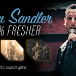 Adam Sandler Launches 'Fresher' Tour
