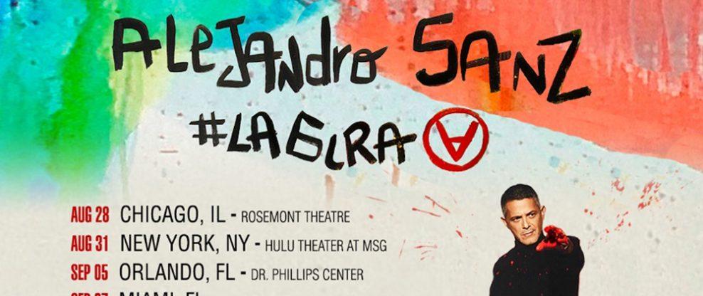 Alejandro Sanz Announces #LaGira Tour