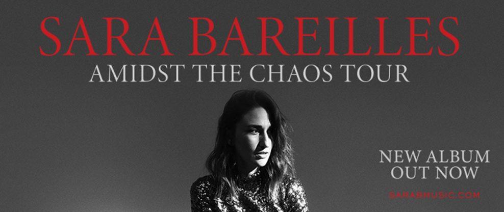 Sara Bareilles Announces Much Anticipated Amidst The Chaos Tour