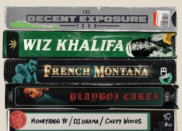 "Wiz Khalifa Announces ""The Decent Exposure Summer Tour"""