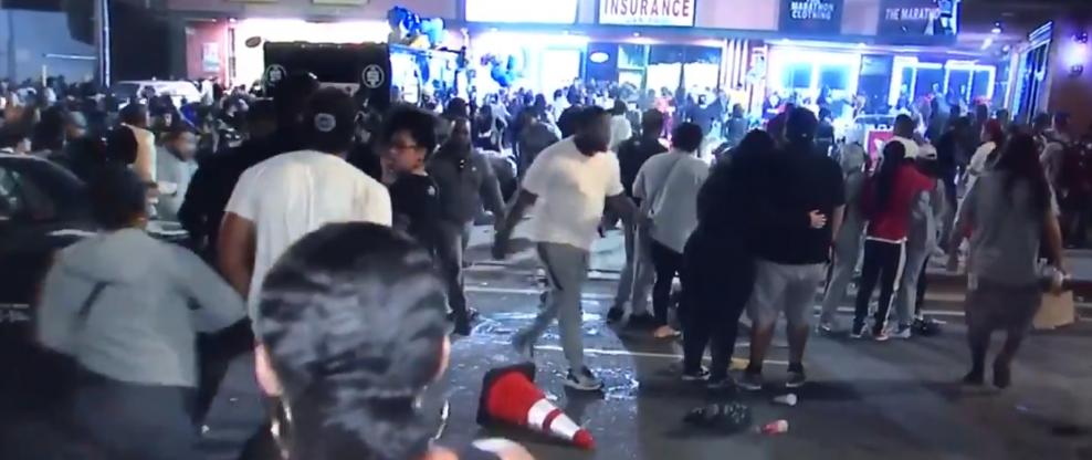 Several Injured As Nipsey Hussle Vigil Ends In Stampede