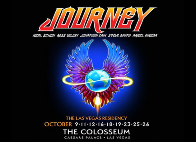 Journey Announce Las Vegas Residency At The Colosseum At Caesars Palace