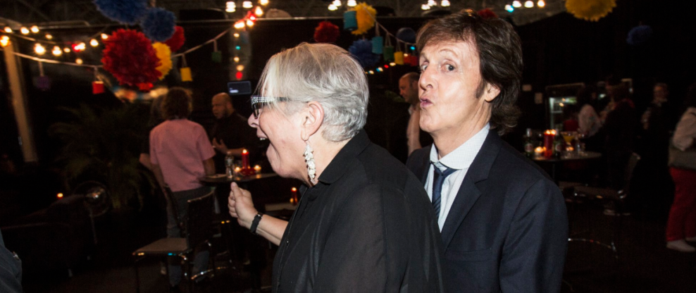 McCartney, Elton Pay Homage To Shelley Lazar