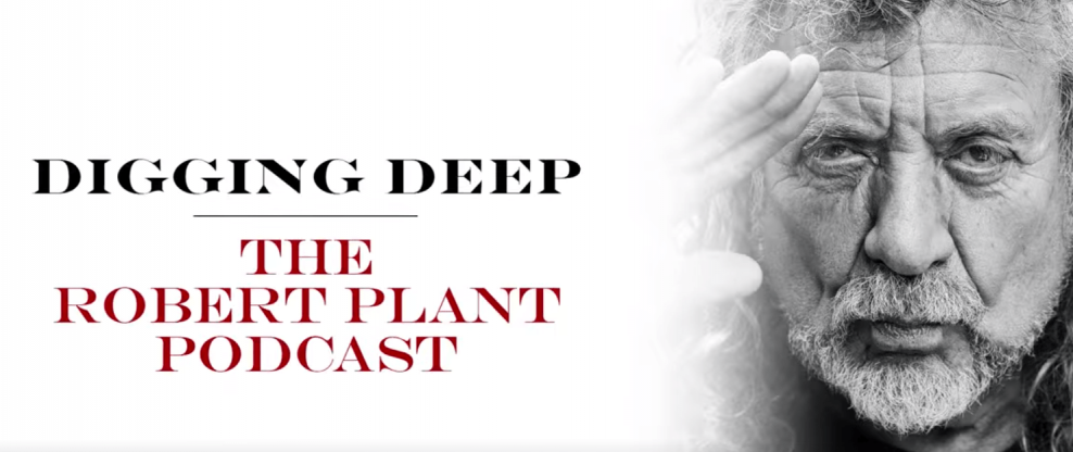 Robert Plant Launches Podcast