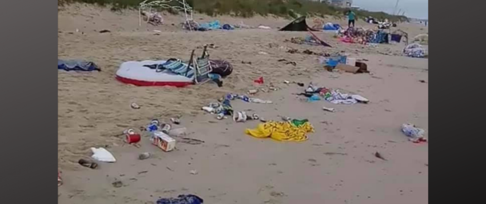 10 Tons Of Trash Left From Virginia Beach Memorial Day Weekend Event
