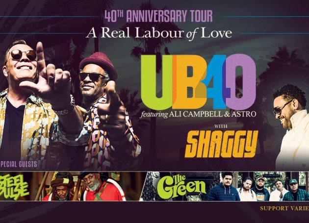 UB40 Announces 40th Anniversary Tour