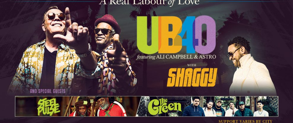 UB40 Announces 40th Anniversary Tour