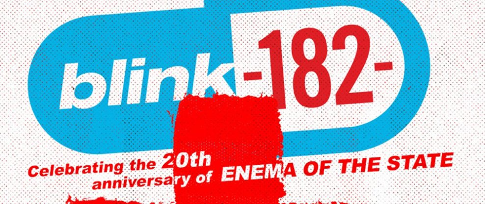 Blink-182 To Perform 'Enema of The State' In Its Entirety on Upcoming Summer Tour