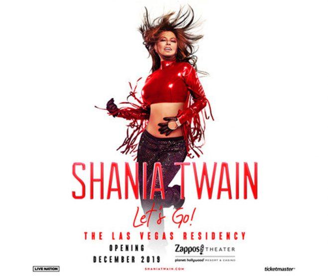 """Shania Twain Announces Las Vegas Residency, Shania Twain """"Let's Go!"""""""
