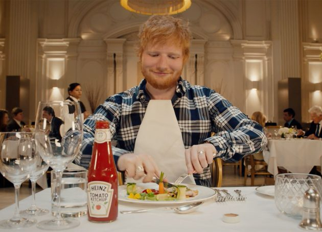 Heinz Taps Ed Sheeran For 150th Anniversary Ketchup Ad