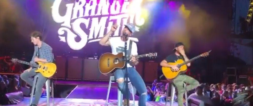 Granger Smith Returns To Stage With Tattoo In Honor Of Late Son