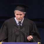 Manager Jim Guerinot Gives Commencement Speech (Video)
