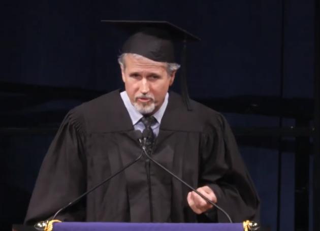 Manager Jim Guerinot Gives Commencement Speech (Video)