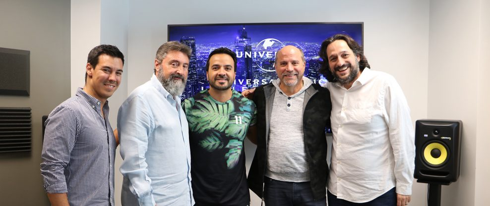 Luis Fonsi Signs Long-Term Recording Contract & Co-Management Deal