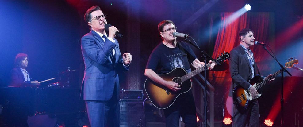 The Mountain Goats & Stephen Colbert