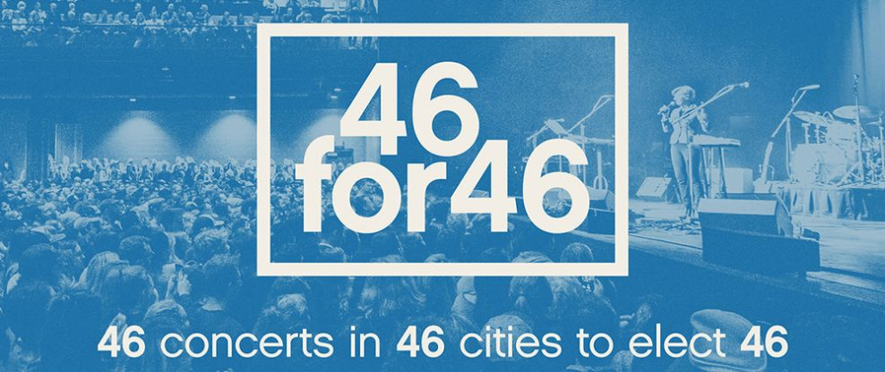 46 Concerts In 46 Cities To Elect The 46th President
