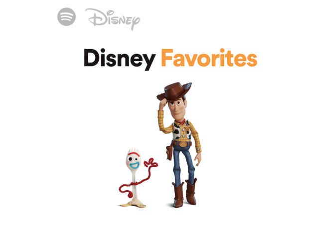 Spotify Partners With Disney To Launch Disney Hub Featuring Movie Soundtracks And Playlists
