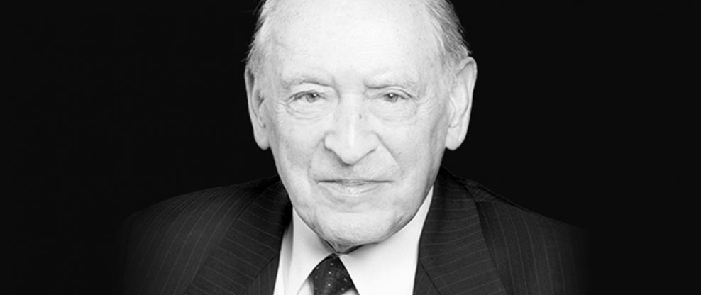 Canadian Arts Impresario Walter Homburger Passes at 95