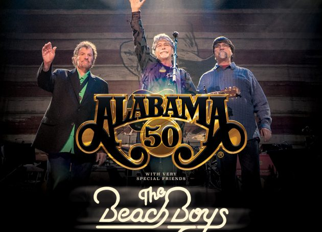 "ALABAMA Recruits The Beach Boys for ""50th Anniversary Tour"" Concert"