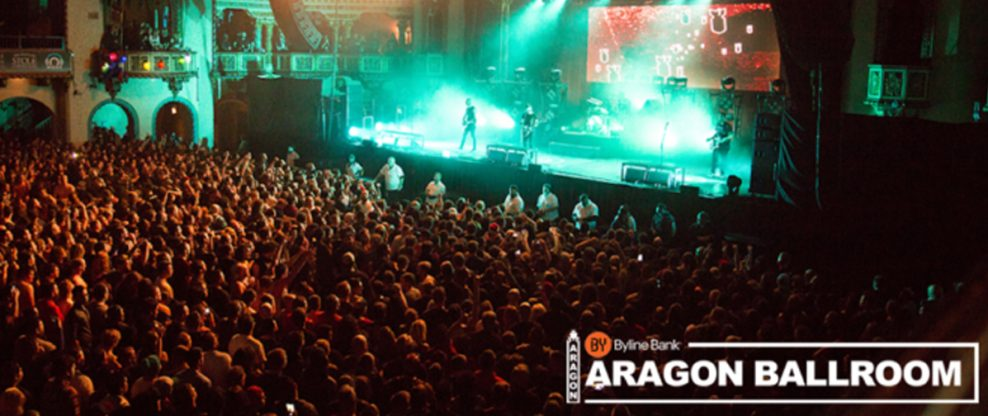 Chicago's Premier Music Venue To Be Renamed Byline Bank Aragon Ballroom