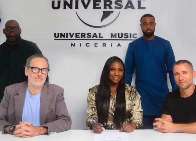 Ugandan Superstar Irene Ntalé Signs With Universal Music Group Nigeria