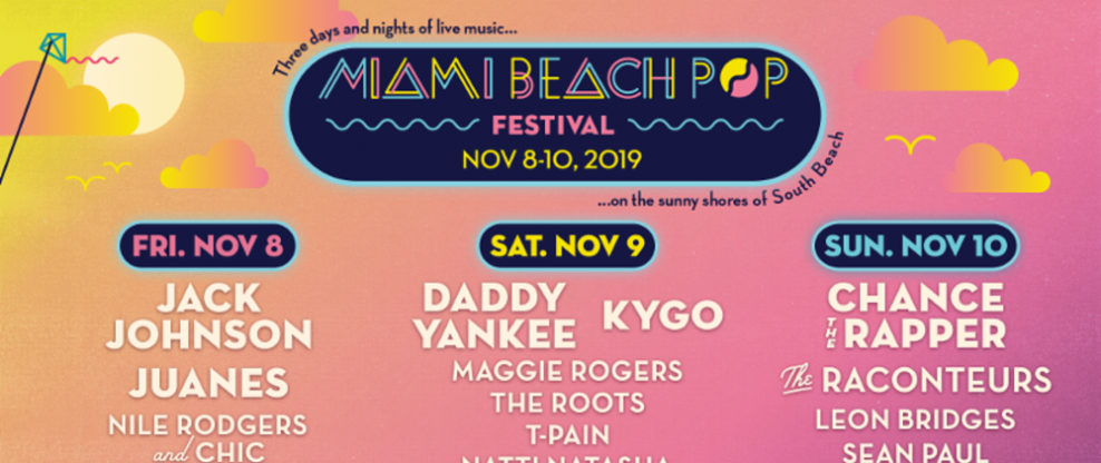 Miami Beach Pop Festival Announces Inaugural Daily Lineups